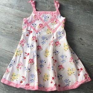 Gymboree Floral Dress 4T